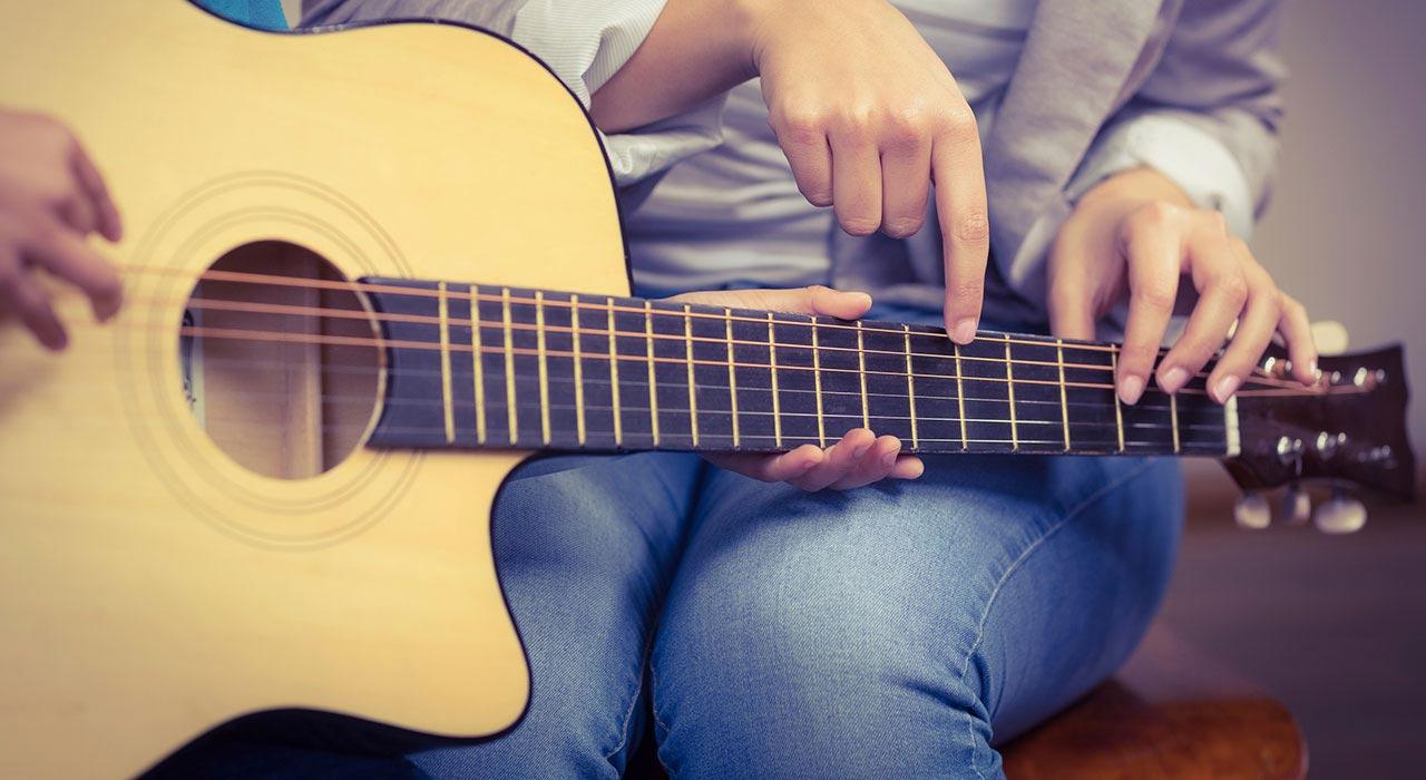 Hire Lessons Hobbies Acoustic Guitar Lesson